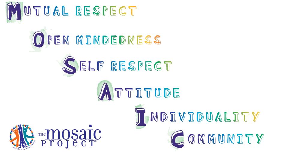 The Mosaic values